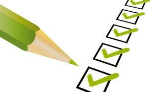Checkliste für die Haustürwartung