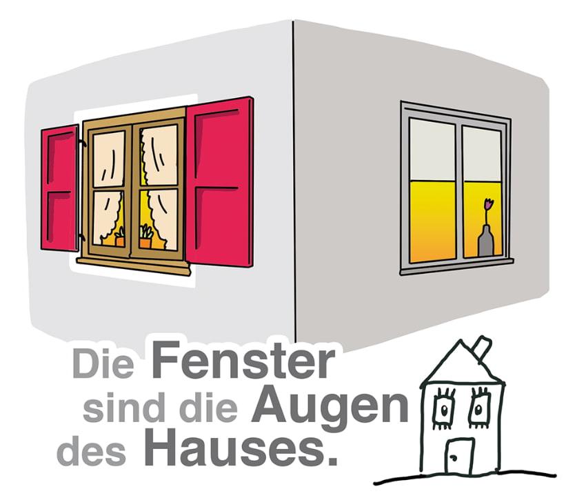 Fenster: Die Augen des Hauses