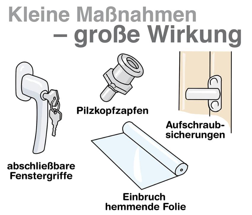 Fenster Einbruchschutz: Kleine Maßnahmen - große Wirkung