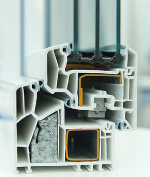 Kunststoff-Fenster im Querschnitt © alterfalter, fotolia.com