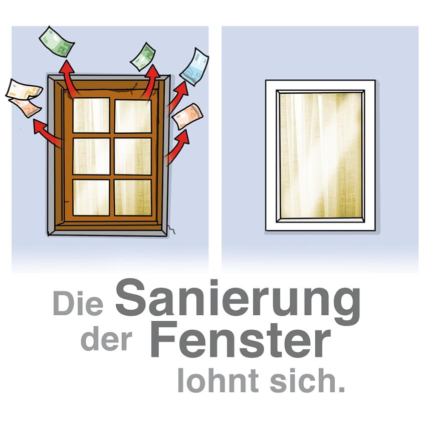 Die Sanierung von Fenstern lohnt sich