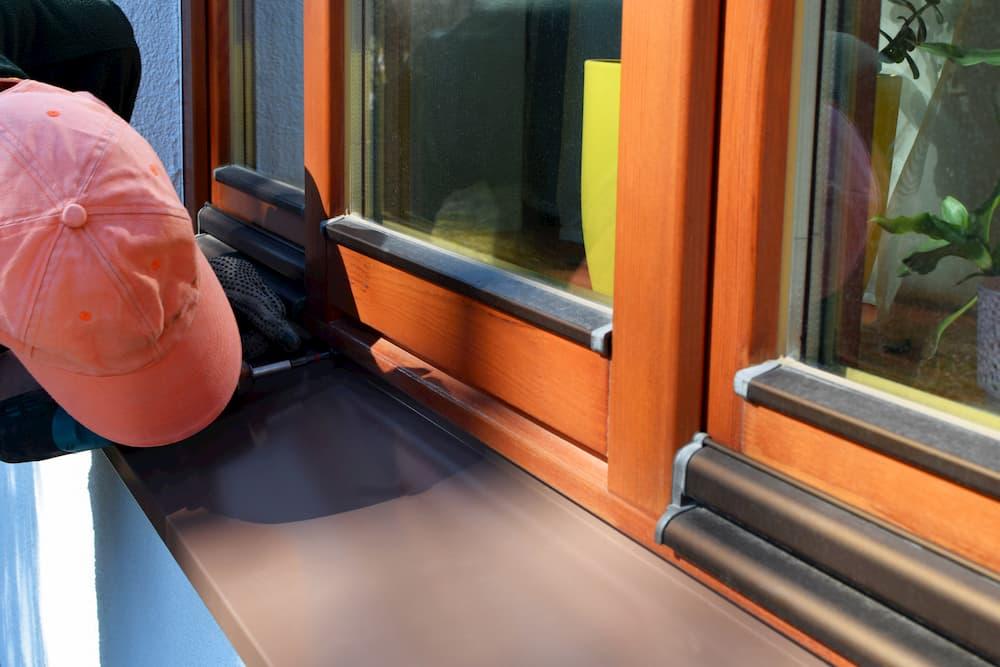 Fensterbank Einbauen Außenbereich © inga, stock.adobe.com