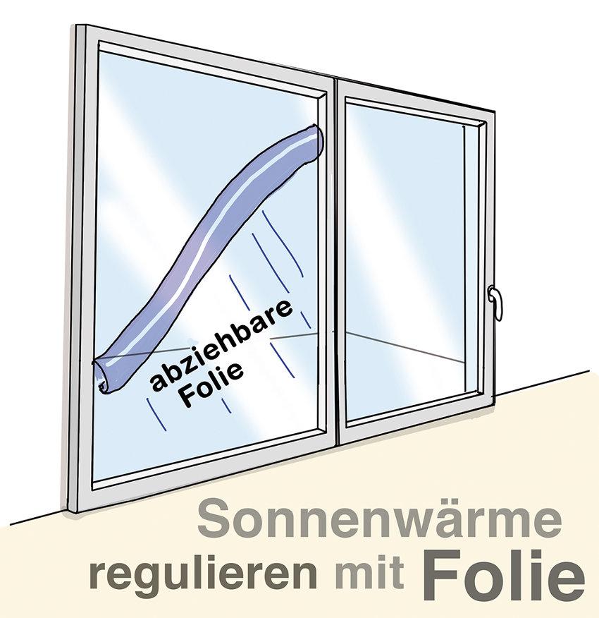 Fensterfolie nachträglich anbringen