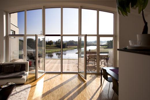 Fensterfront Holzdenkmalfenster © Kneer-Südfenster