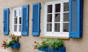 Fensterläden Material