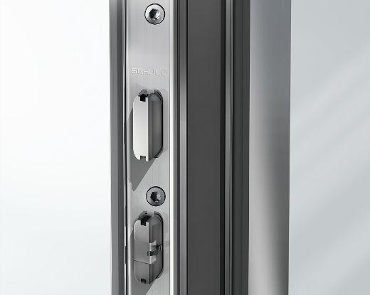 5-Riegel-Fallenschloß für hohe Sicherheit © Schüco International KG