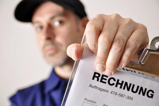 Handwerker Rechnung © Dan Race, fotolia.com