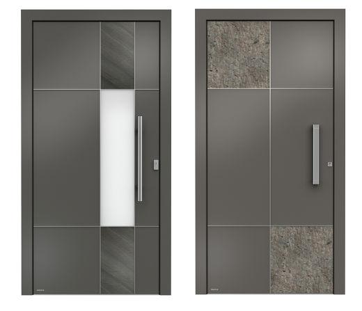 Haustüren aus Aluminium © WERU GmbH
