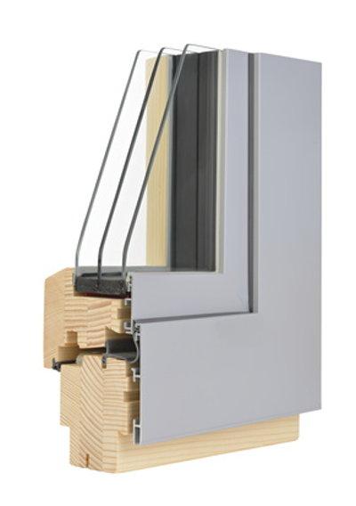 Holz-Aluminium Fenster Profil © Visionsi, fotolia.com