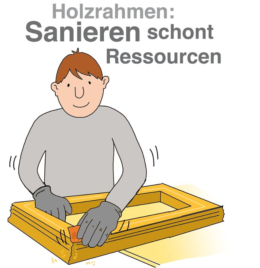 Holzrahmen sanieren kann sich lohnen