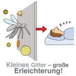 Licht und Luft rein, Insekten raus: Passgenaue Lösungen für Fenster und Türen