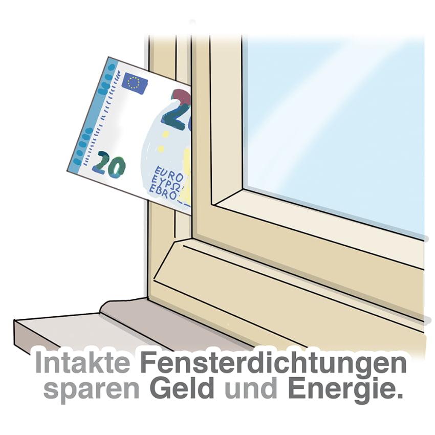 Intakte Dichtungen sparen Energie und Geld