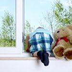 Kindersicherung für Fenster