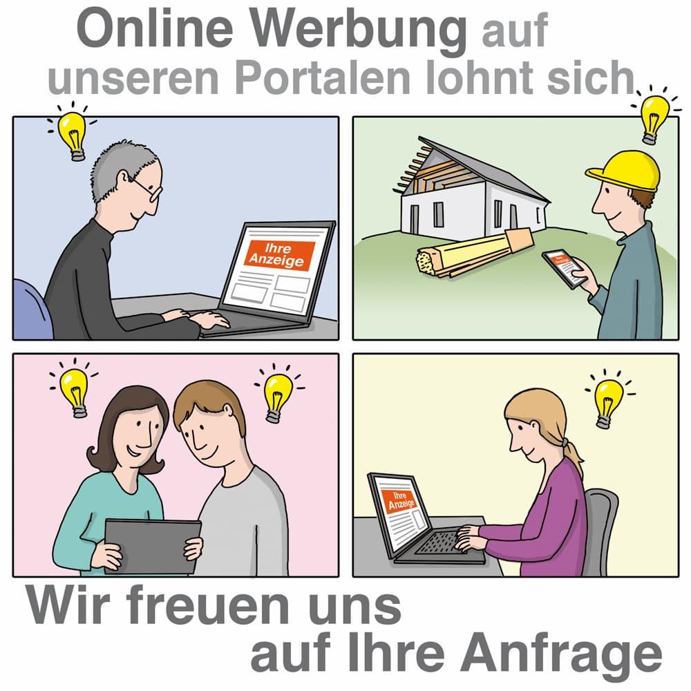 Online Werbung auf unserem Portal kann sich lohnen!