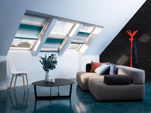Raffrollo am Dachfenster © VELUX Deutschland GmbH