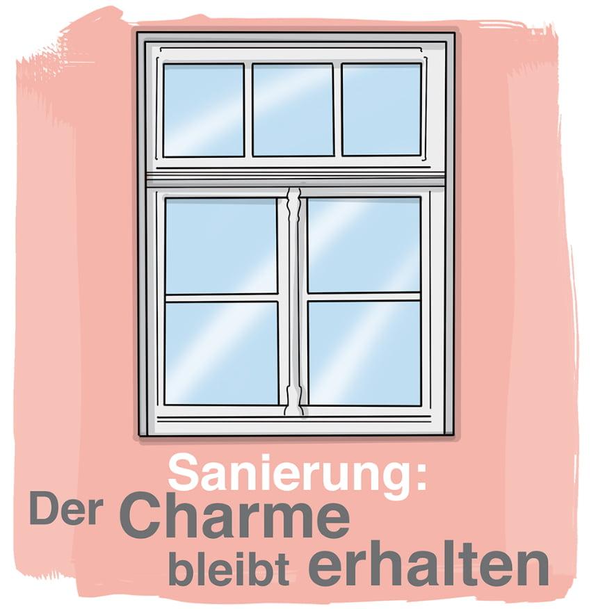 Alte Fenster sanieren: Der Charme bleibt erhalten