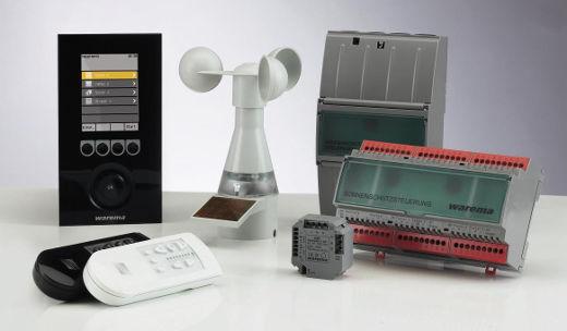 Sonnenschutz Automation mit Sensoren © WAREMA