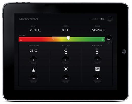 Sonnenschutz Automation © WAREMA