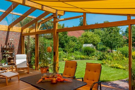 kann ich eine terrassen berdachung selber bauen. Black Bedroom Furniture Sets. Home Design Ideas