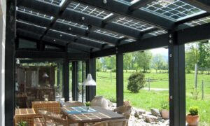 Terrassendächer mit Photovoltaik