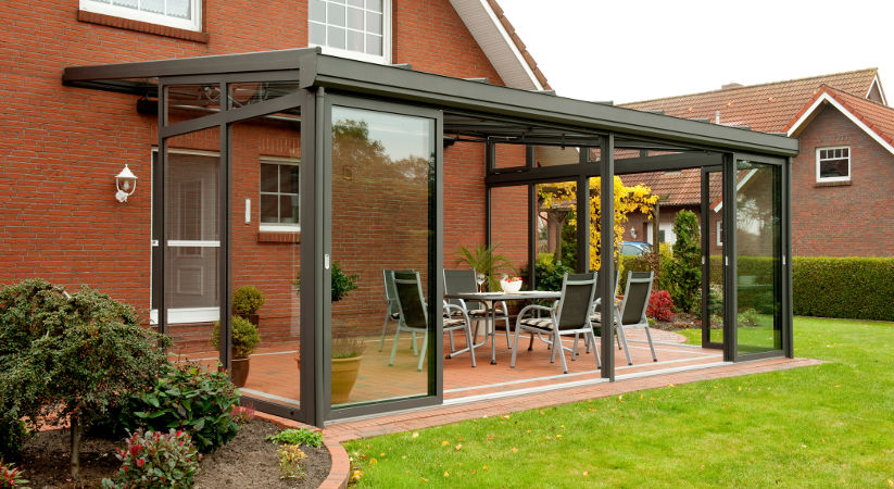 terrassenuberdachung glas selber bauen, terrassendach selber bauen: holz terrassenüberdachung selber bauen, Design ideen
