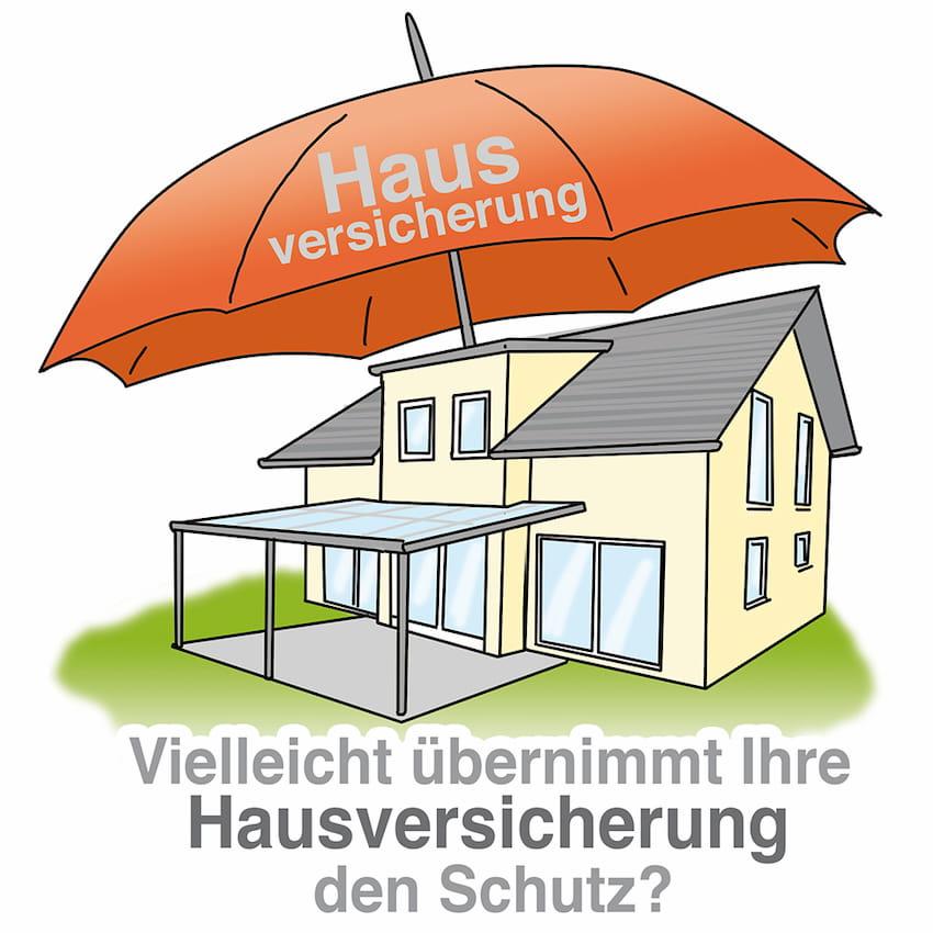 Übernimmt die Hausversicherung auch den Schutz des Terrassendachs
