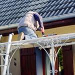 Terrassendach: Pflege, Wartung, Reinigung