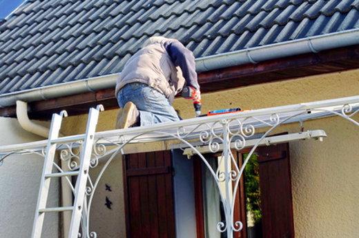 Terrassendach Wartung © savoieleysse, fotolia.com