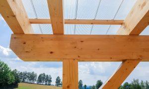 Terrassenüberdachung selbst bauen