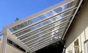 Terrassendach: Materialwahl transparente Dachfläche
