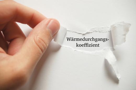 Wärmedurchgangskoeffizient U-Wert © thingamajiggs, fotolia.com
