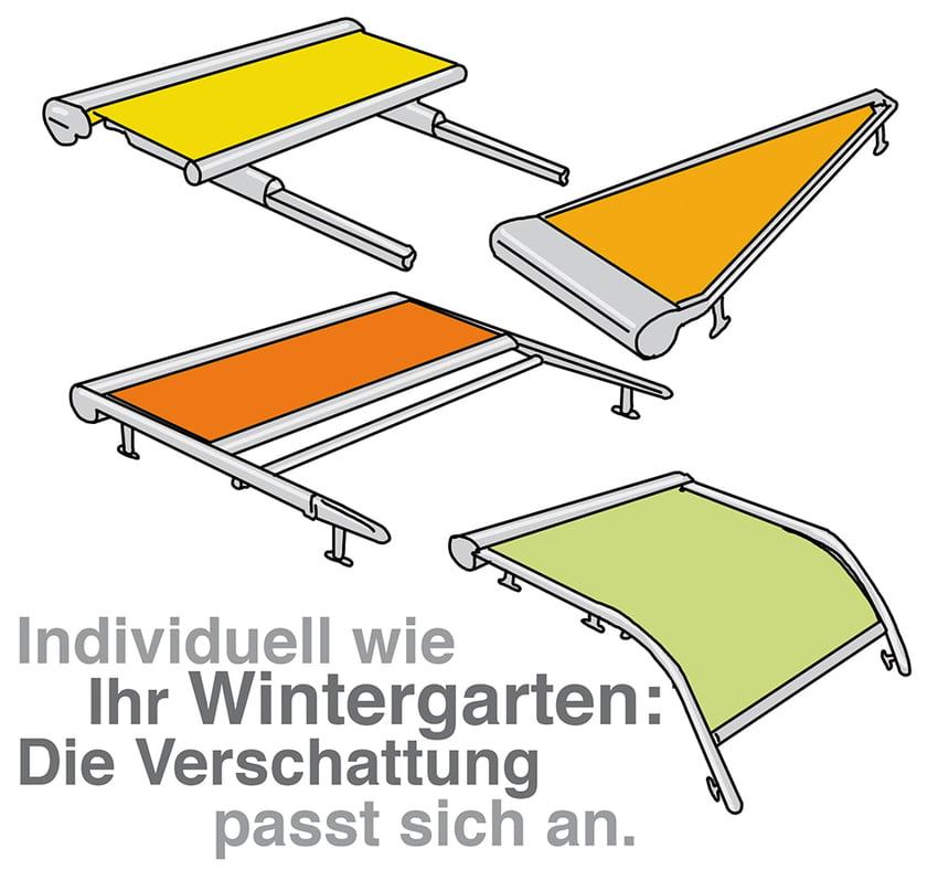 Wintergarten Beschattung: Individuell und flexibel