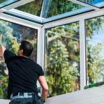 Fenster Pflege und Wartung