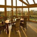 Wintergarten oder Glashaus