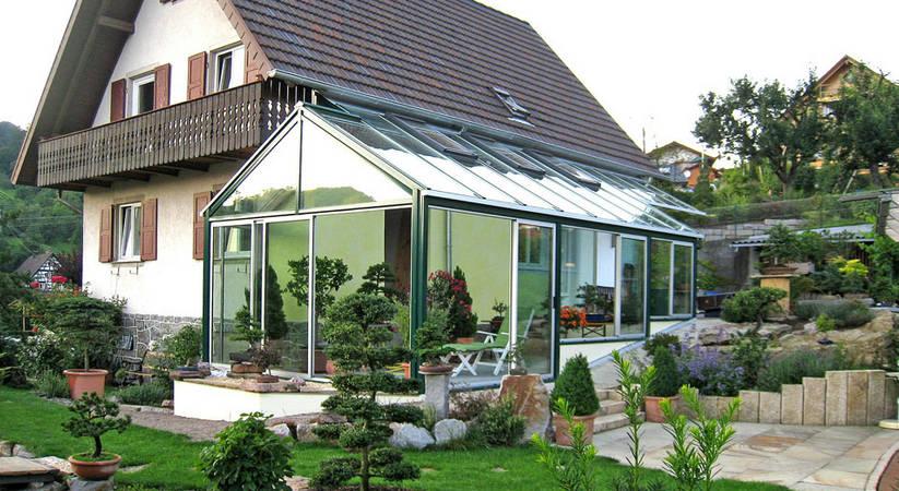 Kaltwintergarten © Holzbau Frammelsberger G. GmbH