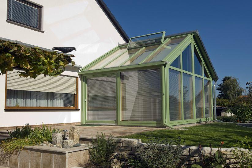 Wintergarten mit Lüftungsfenster © Jechnerer GmbH