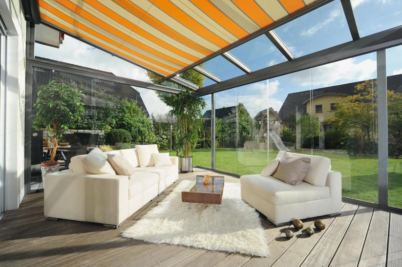 wintergarten beschattung. Black Bedroom Furniture Sets. Home Design Ideas