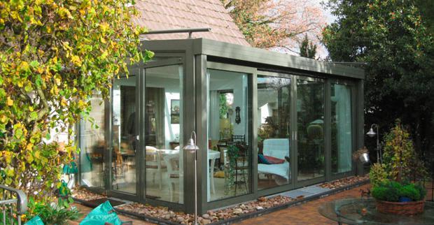 Wintergarten mit Pultdach © GLALUM Glas + Aluminium GmbH